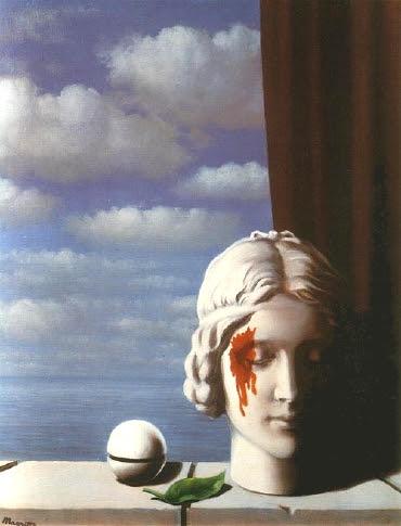 René Magritte — La Mémoire