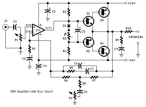 surround sound circuit diagram download