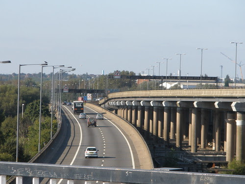 M5 sliproad onto M6