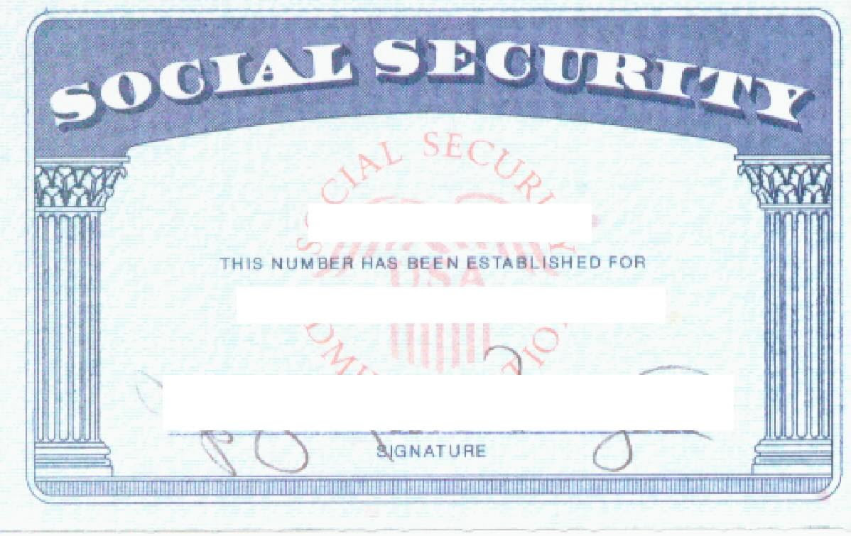 Blank Social Security Card Template Within Fake Social Security Card Template Download