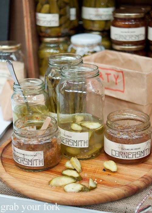 Cornersmith pickles at the Sunday Marketplace, Rootstock Sydney 2014