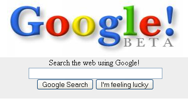 Google from 1998.
