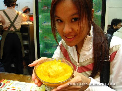 hong kong famous mango pudding