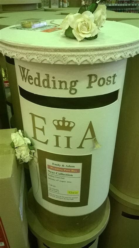 25  best ideas about Wedding Post Box on Pinterest
