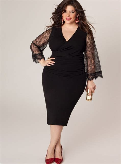 Black plus size dresses for special occasions