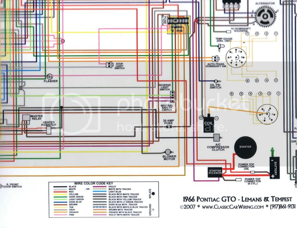 E042e67 1966 Gto Dash Wiring Diagram Wiring Library