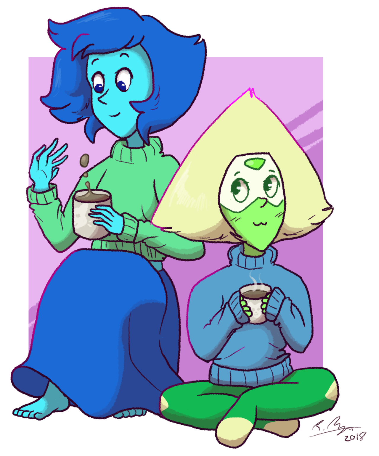 seeing perdiot in a jumper in that one episode was the best experience of my life so here's some cute jumper-involved fluff