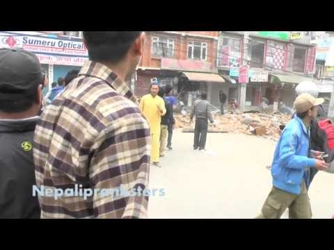 Epic Earthquake In Nepal (Full HD) - NepaliPranksters TV