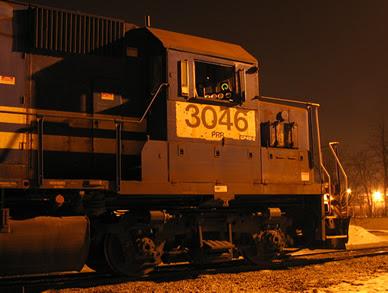 NS GP40-2 3046
