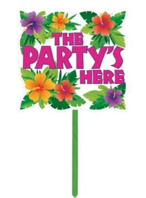 Summer Party Yard Sign 14in x 15in   Party City