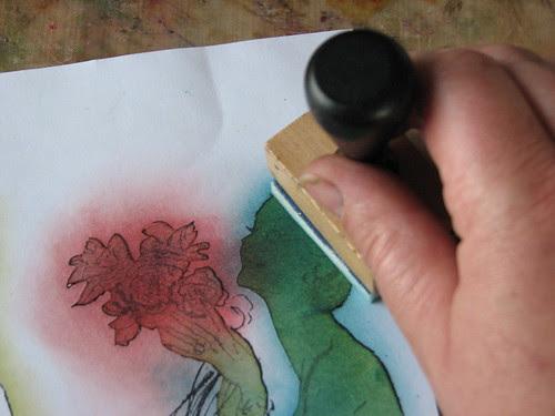 Aura Stamping Technique010