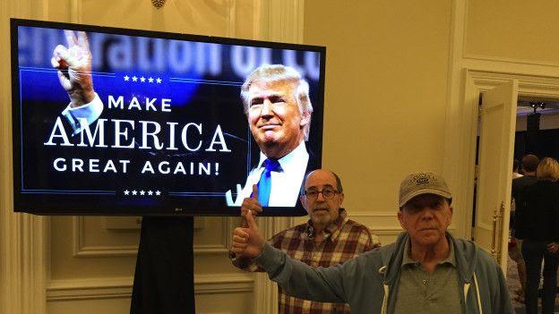Simpatizantes de Trump