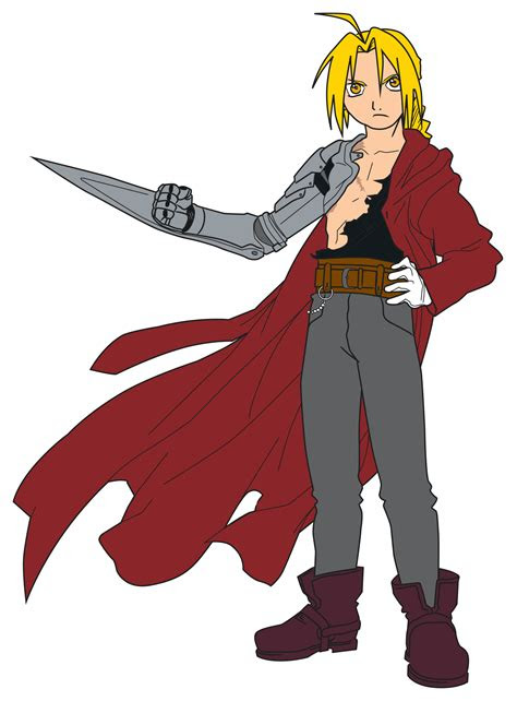 draw full metal alchemist characters  steps