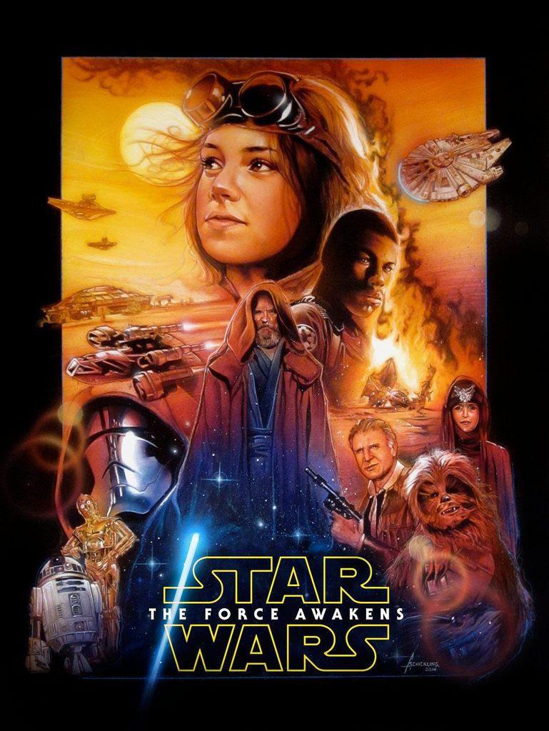 Star Wars Le Réveil De La Force Le Film Que Tout Le Monde