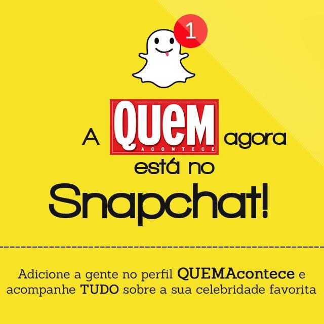 Snapchat de QUEM (Foto: Reprodução)