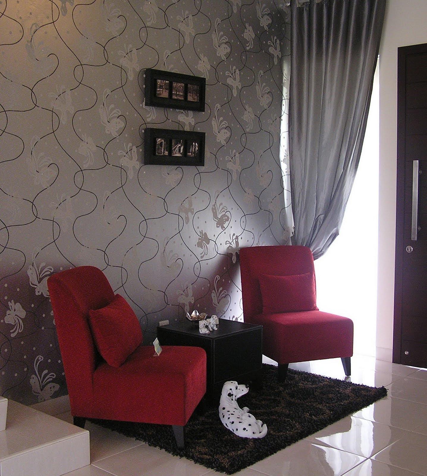 Desain Interior Interior Design Surabaya Wallpaper Roll Blind