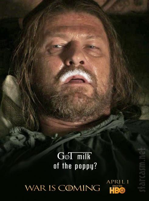 EXCLUSIVE Game of Thrones Season 2 poster - starcasm.net