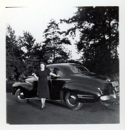 woman and coupe