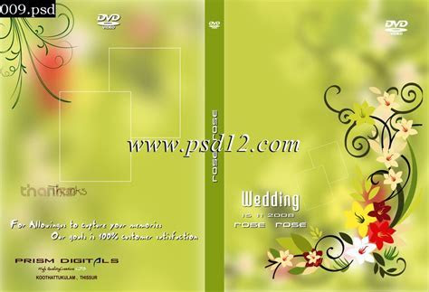 Indian Wedding Dvd Cover Designs Psd Free Download