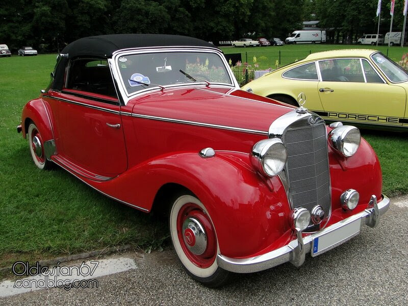 "Mercedes Benz 170 S cabriolet-1950 - Oldiesfan67 ""Mon blog ..."