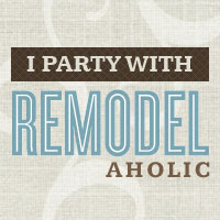 I party with Remodelaholic