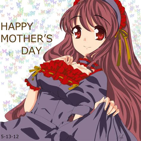 anime cg drawing mothers day special