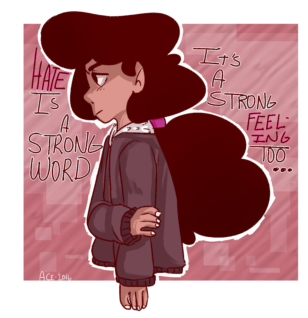 Stevonnie was so great in tonights ep i love them so much Also, i knw what it feels like to have a person come at you even when you say 'NO' so this ep hit hard and im glad its teaching children that...