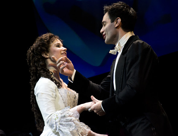 Image result for ramin karimloo and sierra boggess phantom of the opera