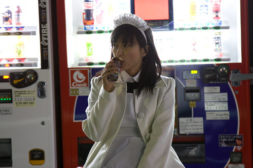 The Maid (Luchino Fujisaki) has a solitary moment