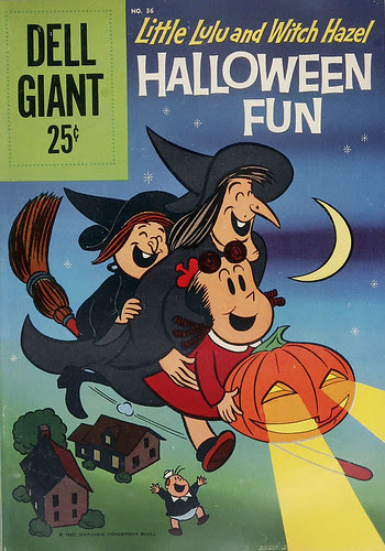 Little Lulu and Witch Hazel Halloween Fun