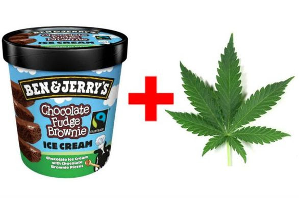 Παγωτό με γεύση μαριχουάνα βγαίνει στην αγορά (pics+video)