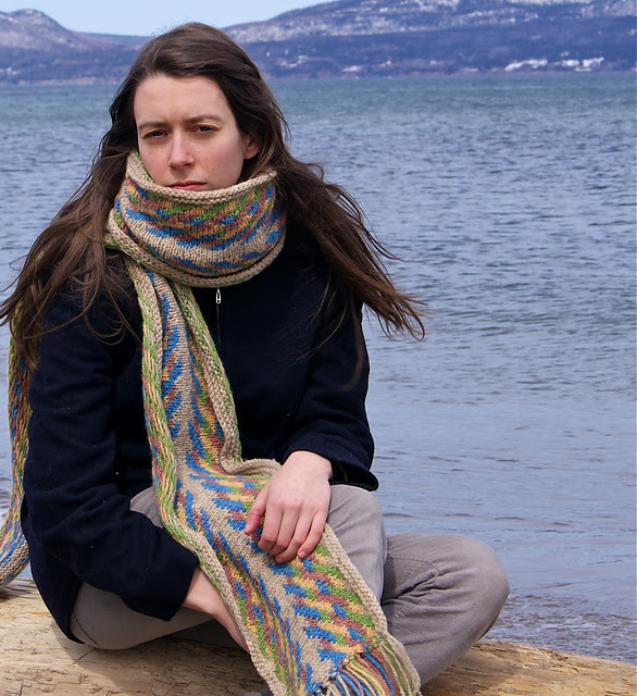 foulard fléchée maude design