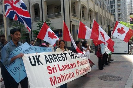Protest in Canada