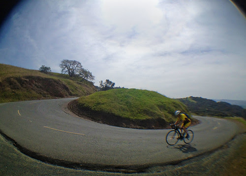 some rider going by on Diablo