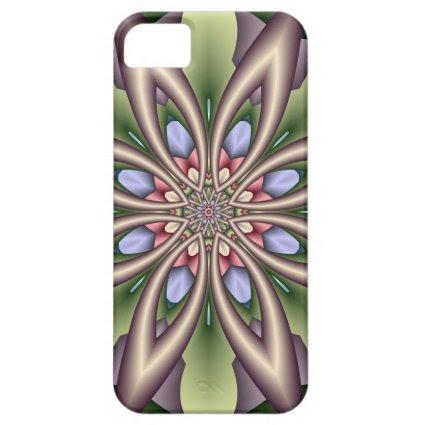 Decorative Floral Kaleidoscope iPhone 5/5S Case