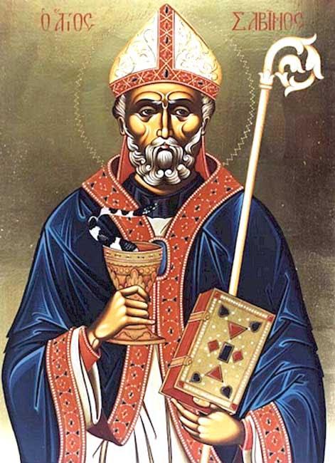 IMG ST. SABINUS, Bishop of Canosa