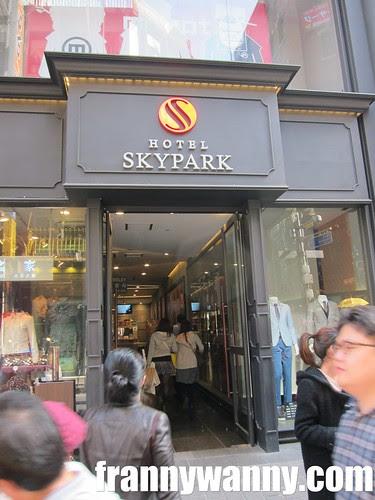 skypark hotel korea 1