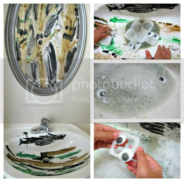 http://www.thegoldengleam.com/2012/09/halloween-ice-ghosts-messy-play-in-sink.html
