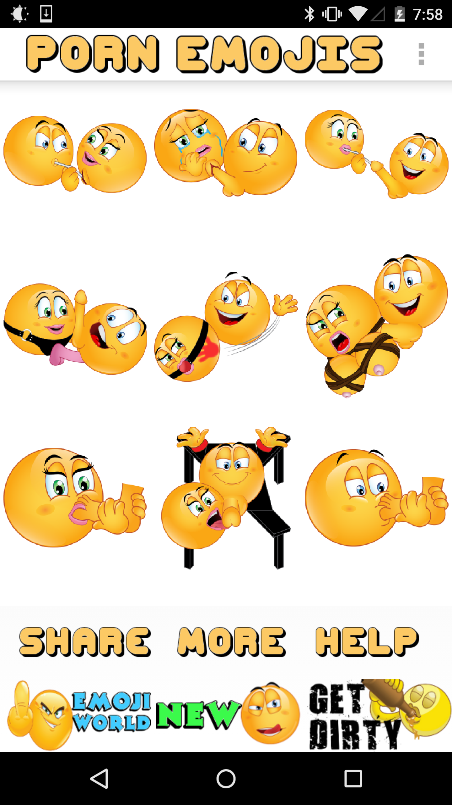 Download gif: Porn emoji download android