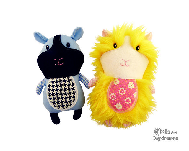 guinea pig sewing pattern