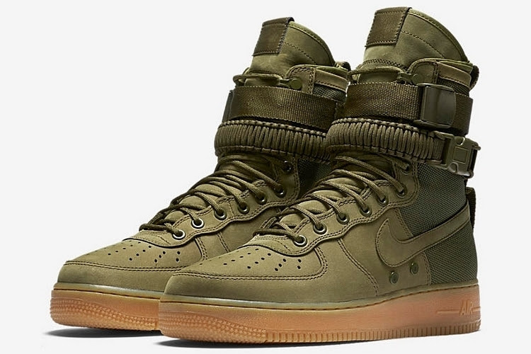 Nike Air Force 1 Boots 2016 minimalist interior design