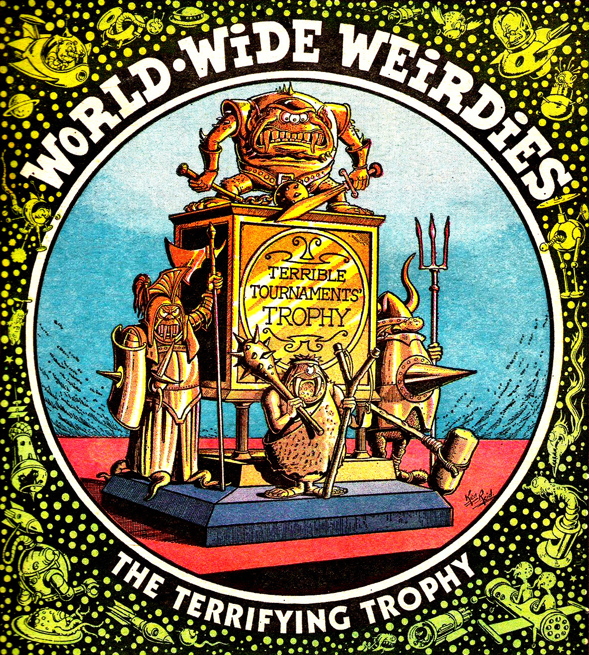 Ken Reid - World Wide Weirdies 45