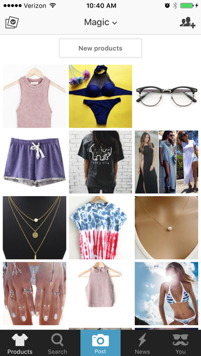 Wanelo screenshot New social apps