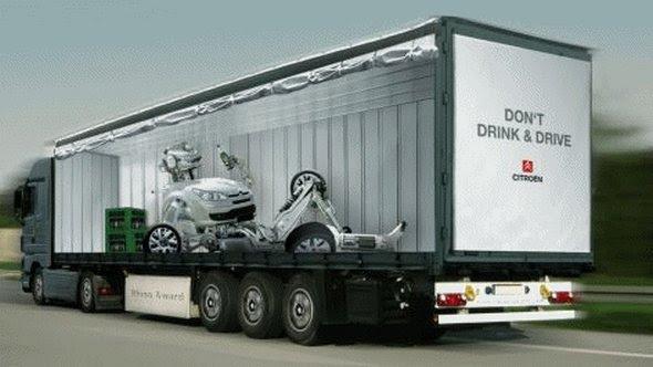 truck ad designs 03 in Funny 3D Truck Ad Designs