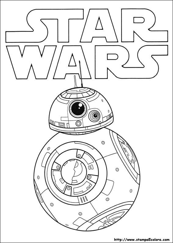 Disegni Di Star Wars Il Risveglio Della Forza Da Colorare