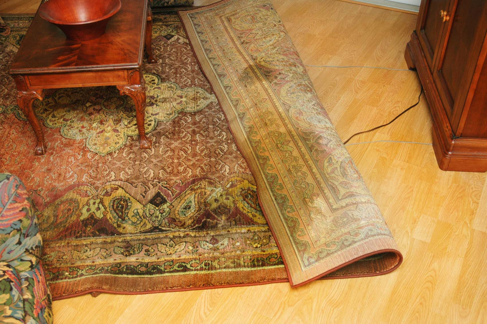 Oriental Rug Care How to care for hand knotted real wool Silk rugs