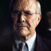 "Donald H. Rumsfeld in Errol Morris's ""The Unknown Known."""