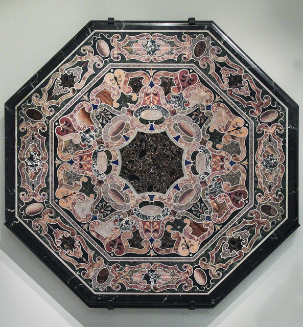 Table top, about 1580, Rome-Italy