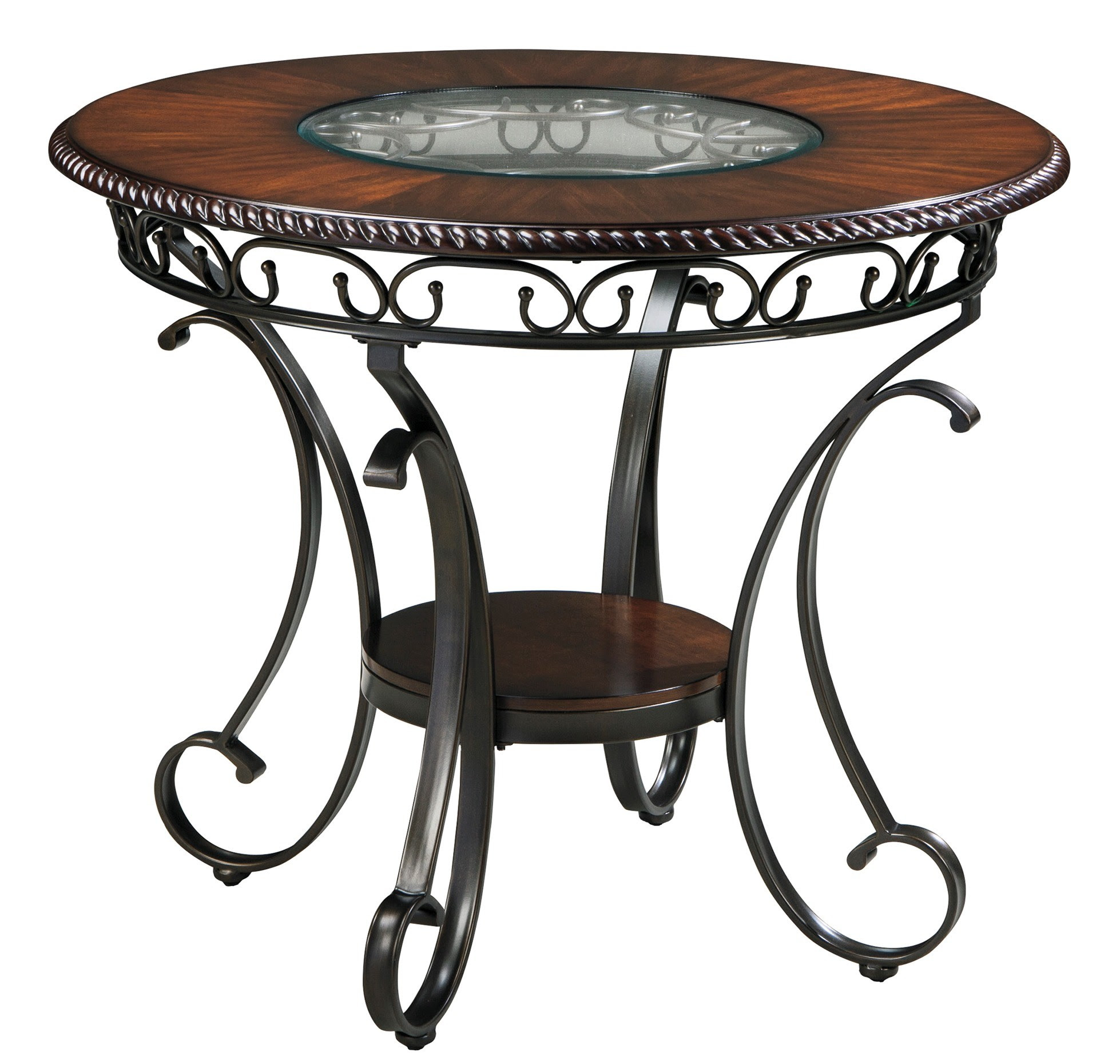 Glambrey Round Dining Room Counter Height Table Set from ...
