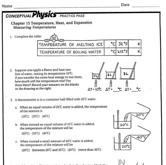 31 Worksheet Heat And Heat Calculations Answer Key ...